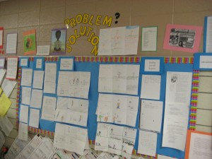 Student Work Displays