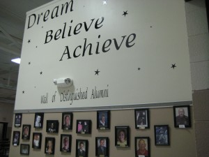 Wall of Distinguished Alumni